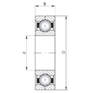 Loyal Q1022 angular contact ball bearings