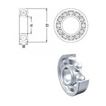 110 mm x 170 mm x 28 mm  ZEN 6022 deep groove ball bearings