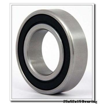 25 mm x 52 mm x 15 mm  RHP 39/LJT25 angular contact ball bearings