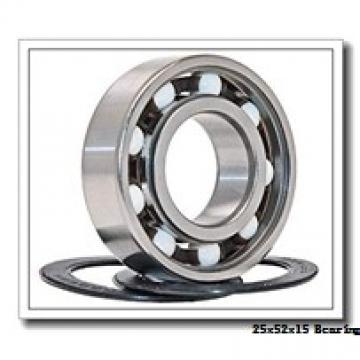 25 mm x 52 mm x 15 mm  SNR AB44250S01 deep groove ball bearings