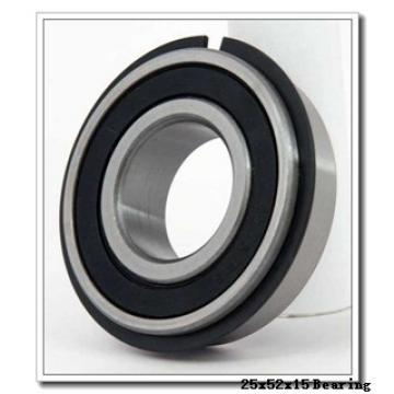 25,000 mm x 52,000 mm x 15,000 mm  NTN-SNR 6205Z deep groove ball bearings