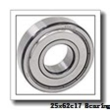 25 mm x 62 mm x 17 mm  ISB 6305 N deep groove ball bearings