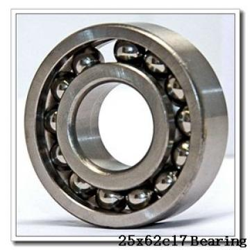 25 mm x 62 mm x 17 mm  ISB 6305-ZZNR deep groove ball bearings