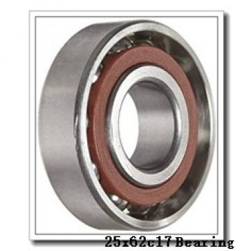 25 mm x 62 mm x 17 mm  ISO 7305 C angular contact ball bearings