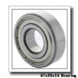 20 mm x 47 mm x 14 mm  SKF S7204 CD/P4A angular contact ball bearings